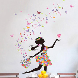 newest-butterfly-dancing-girl-removable-wall